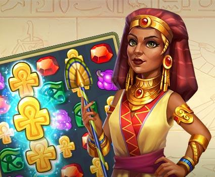 Jewels of Egypt: Match 3 Puzzle Game